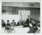 Winthrop Rockefeller at luncheon for Amerace Molded Products