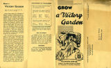 Side 1: Grow a Victory Garden;...